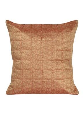Lal Haveli Handmade Designer Silk Cushion Cover 16 X 16 inches