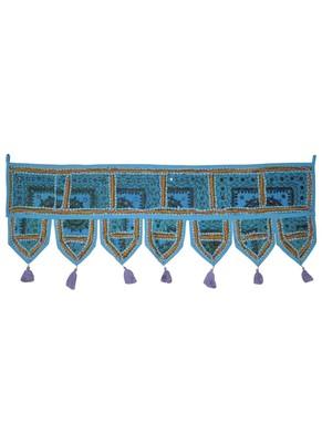Handmade Patchwork Decorative Cotton Door Tapestries 107 x 40 Cm