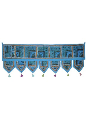 Decorative Handmade Embroidered Traditional Patchwork Door Hanging Toran 107 ...