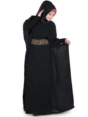 MyBatua Aanisah Black Kaftan