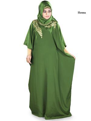 MyBatua Aarifah Green Kaftan