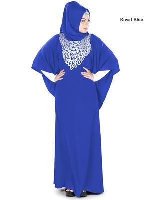 MyBatua Aimen Royal Blue Kaftan