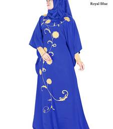 MyBatua Aiza Royal Blue Kaftan
