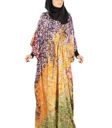 MyBatua Farhanah Multicolor Batik Print Kaftan