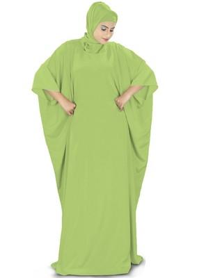 MyBatua Rua Parrot Green Kaftan