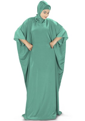 MyBatua Rua Sea Green Kaftan