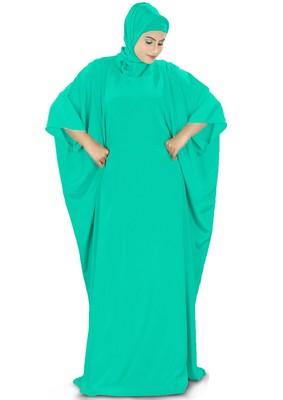 MyBatua Rua Turquoise Green Kaftan