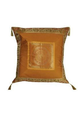Lal Haveli Throw Pillowcases Room Decor Designer Silk Cushion Cover 24 x 24 inch