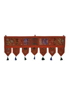 Cotton Door Toran Tapestry 39 X 16 Inches