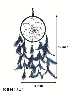 "KSHIJU's Dreamcatcher  Blue  5"" inch Wall Hangings  Home Décor Nursery Décor"