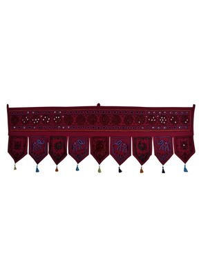 Rajasthani Handmade Decorative Embroidery Work Design Door Hanging Tapestries...
