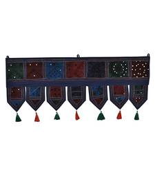 Lal Haveli Home Decorative Embroidered Tapestries Door Valance Toran Valance 39 X 16 inches