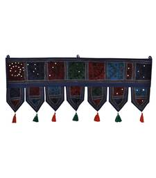 Lal Haveli Vintage Home Decorative Embroidered Tapestries Door Hanging Decoration 39 X 16 inches