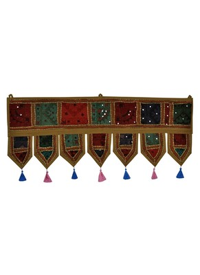 Lal Haveli Door Hanging Tapestries Valance 39 X 16 inches