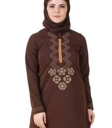MyBatua Hasna Brown Kashibo Tunic