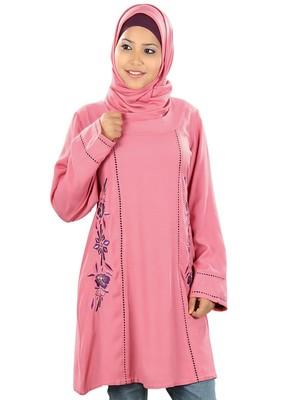 MyBatua Hazirah Pink Tunic