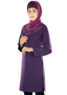 MyBatua Salmaa Purple Tunic