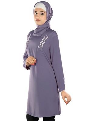 MyBatua Suhaylah Purple Tunic