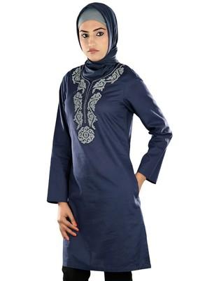 MyBatua Nathifa Blue Tunic