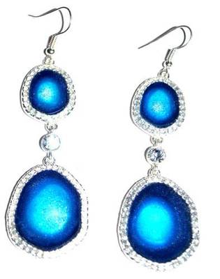 Beautiful cosmic rays earrings