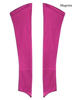 MyBatua Magenta Jersey Sleeves