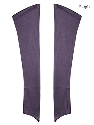 MyBatua purple Jersey Sleeves
