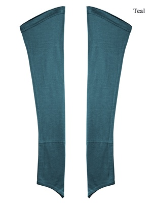 MyBatua Teal Turquoise Jersey Sleeves
