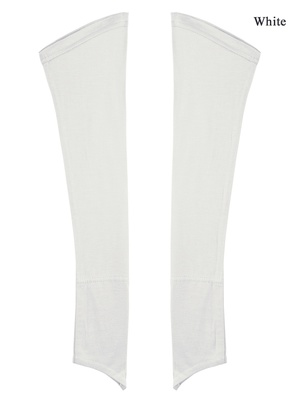 MyBatua white Jersey Sleeves