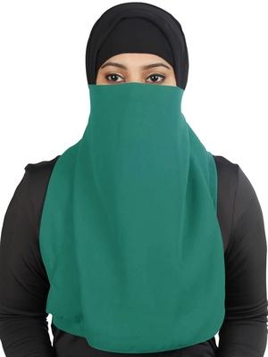 MyBatua Green Lamah Niqab