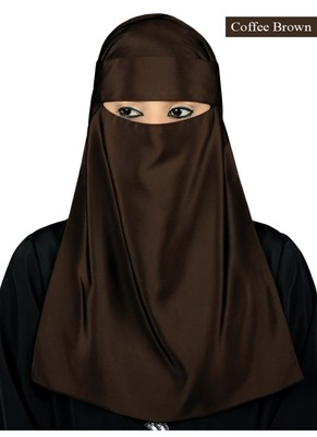 MyBatua brown Lamah Niqab