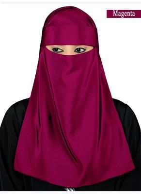 MyBatua magenta Lamah Niqab