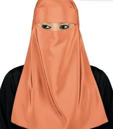 MyBatua orange Lamah Niqab