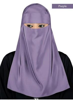 MyBatua purple Lamah Niqab