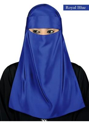 MyBatua Royal Blue Lamah Niqab
