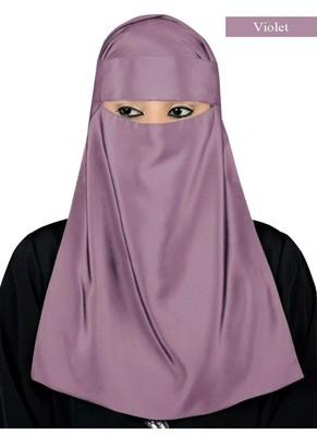 MyBatua Violet Lamah Niqab