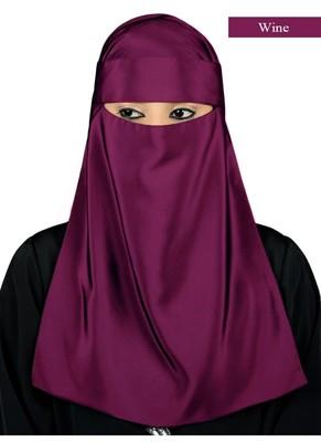 MyBatua wine Lamah Niqab