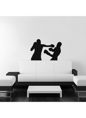 Boxing punches Wall Decal