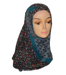 Buy Multicolor Floral Print viscose Hijab hijab online