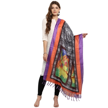 Designer party wear Digital print Dupatta