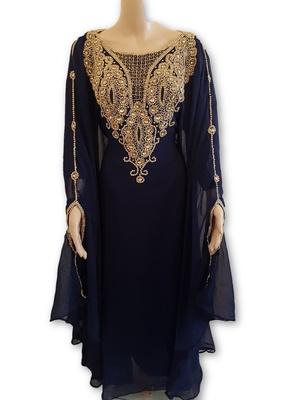 ELEGANT ROYAL Moroccan Caftan Dubai Kaftan Abaya Wedding Robe Takchita var