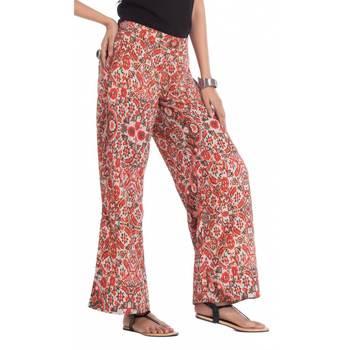 Multicolor Rayon palazzo pants