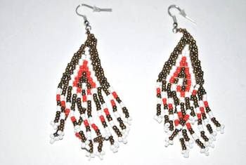 Tribal beaded jewelery