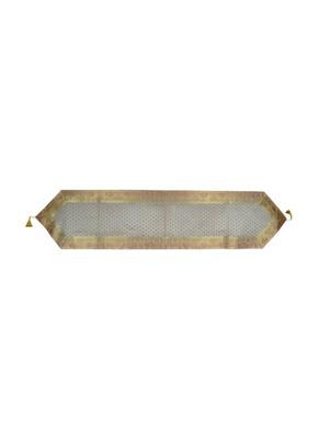 Lal Haveli Banarasi Silk Home Decorative Table Runner 72 x 16 inch