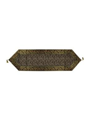 Lal Haveli Decorative Designer Black Silk Table Runner 60 X 16 inch