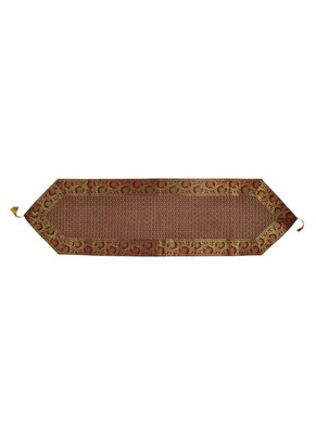 Lal Haveli Decorative Silk Table Runner 60 x 16 inch