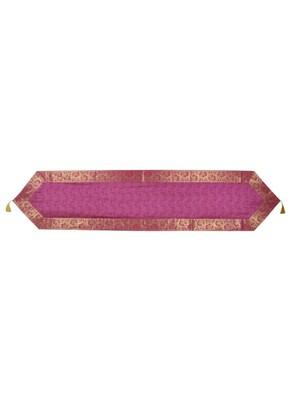 Lal Haveli Handmade Silk Table Runner for Housewarming Gift 60 X 16 inches