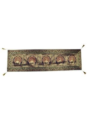 Lal Haveli Room Decorative Handmade Designer Table Runner Silk 60 X 16 inches