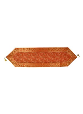 Lal Haveli Table Decorations Rectangular Silk Table Runner 60 x 16 inch