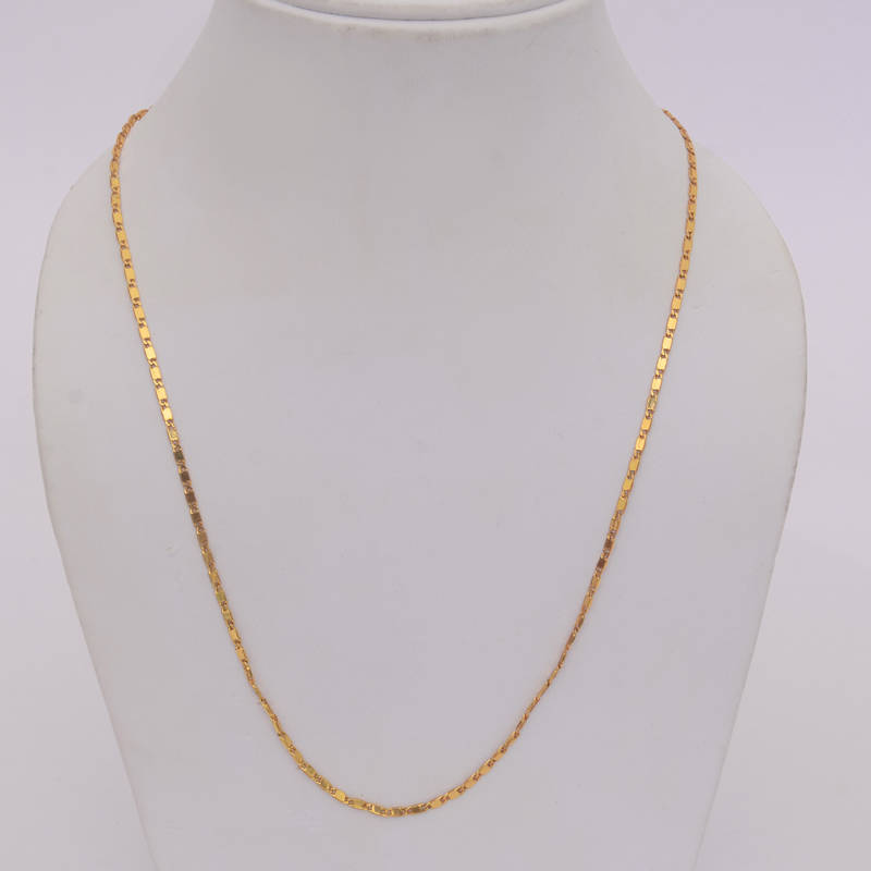 Buy Trendy Gold Colored Daily Wear Chain Online