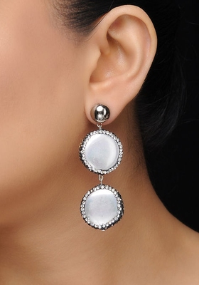 Baroque Pearl Danglers